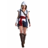 Assassins Creed: Connor Female Adult Costume